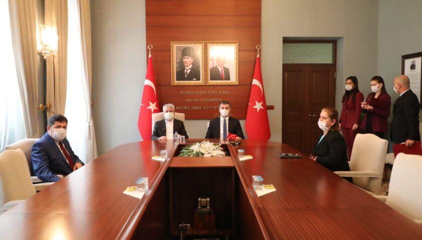 Vali Doğan Başsavcı ile işbirliği protokolü imzaladı