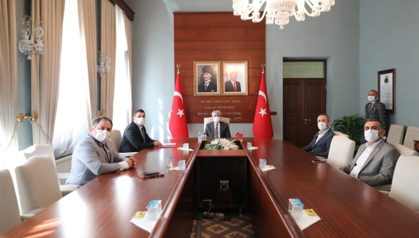 Hatay'daki Türk Telekom altyapısı konuşuldu