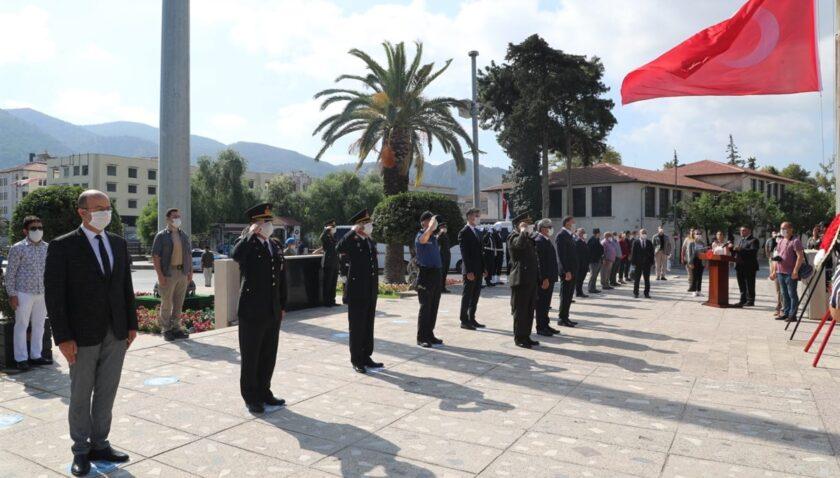 19 Eylül Gaziler Günü düzenlenen törenlerle kutlandı