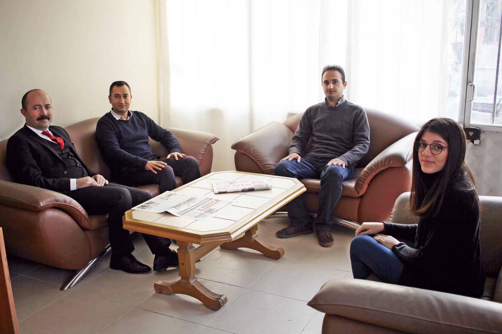 Altınözü Kaymakamı Uygur Gazetemizi Ziyaret Etti