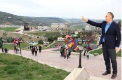 Başkan Sarı Altınözü'nü turizmin beşiği yaptı