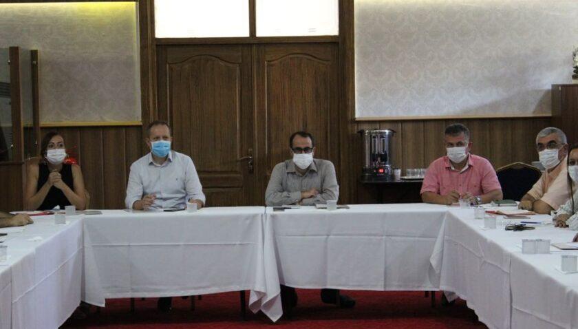 Hatay'daki koronavirüs istatistikleri incelendi