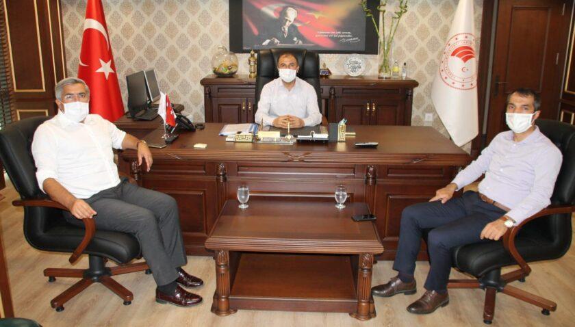 Yayman'dan Çolakoğlu'na ziyaret
