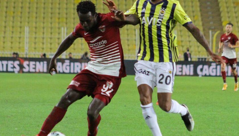 9 kişiyle 1 puan: Hatayspor, Fenerbahçe'ye geçit vermedi