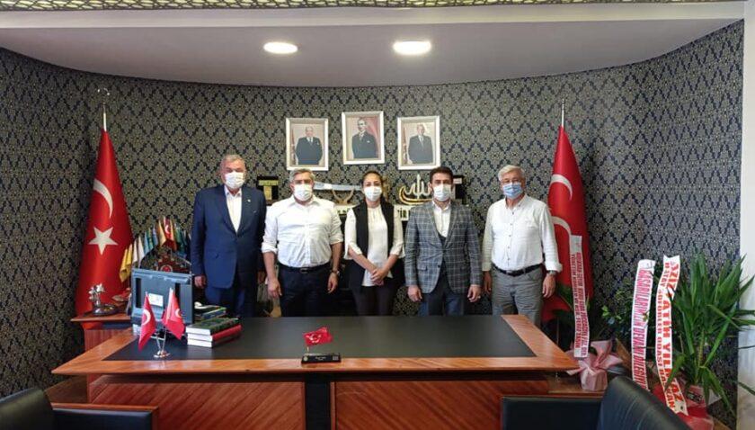 AK Parti'den Adal'a hayırlı olsun ziyareti