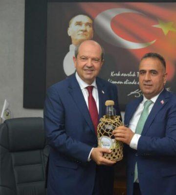 KKTC Cumhurbaşkanı Ersin Tatar, Altınözü'ne geliyor