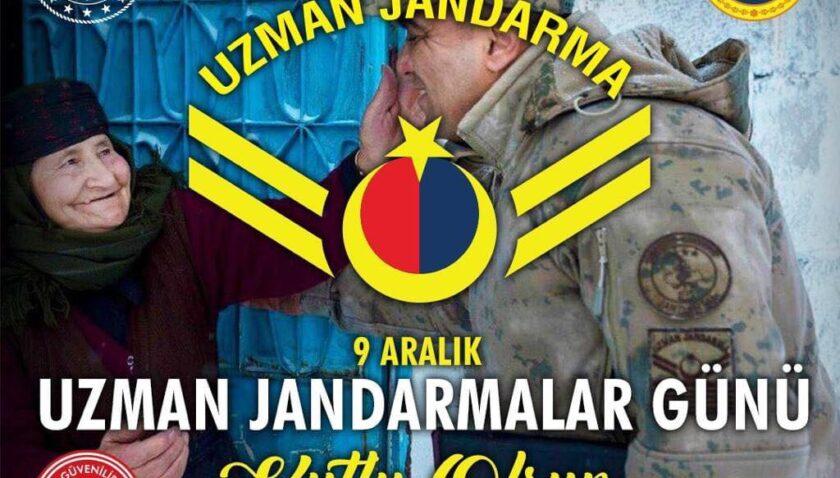 Uzman Jandarmalar Günü kutlu olsun!