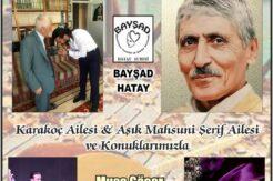 BAYŞAD'tan ustalar geçidi: Karakoç'lar Şiir Gecesi