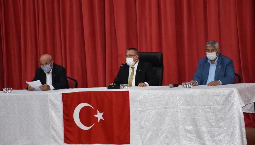 Altınözü Belediye Meclisi, Ölmez başkanlığında toplandı
