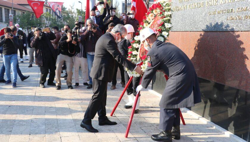Ulu Önder Atatürk özlemle anıldı