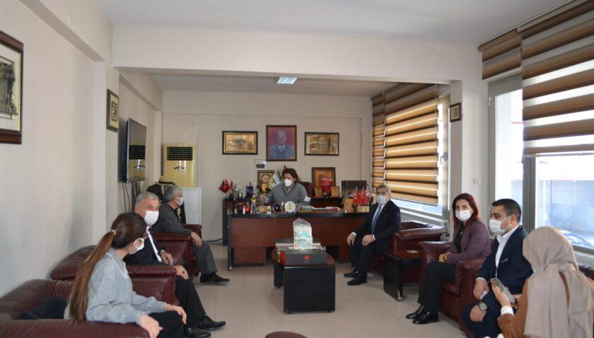 AK Parti'den HD Medya Grubu'na taziye ziyareti