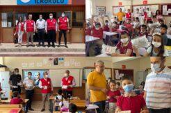 Kızılay'dan Altınözü Atatürk İlkokulu'na tasarım ve proje seti