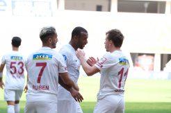 Deplasman Hatayspor'dan sorulur 0-2