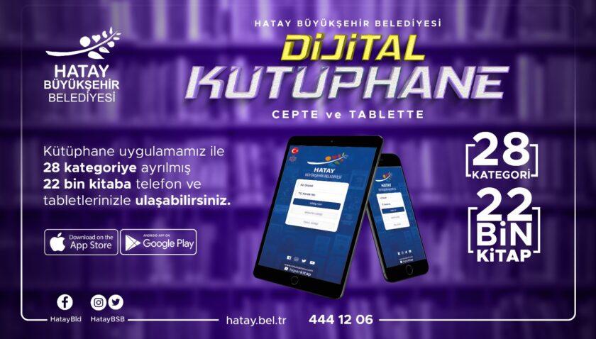 22 bin kitap Dijital Kütüphane'de