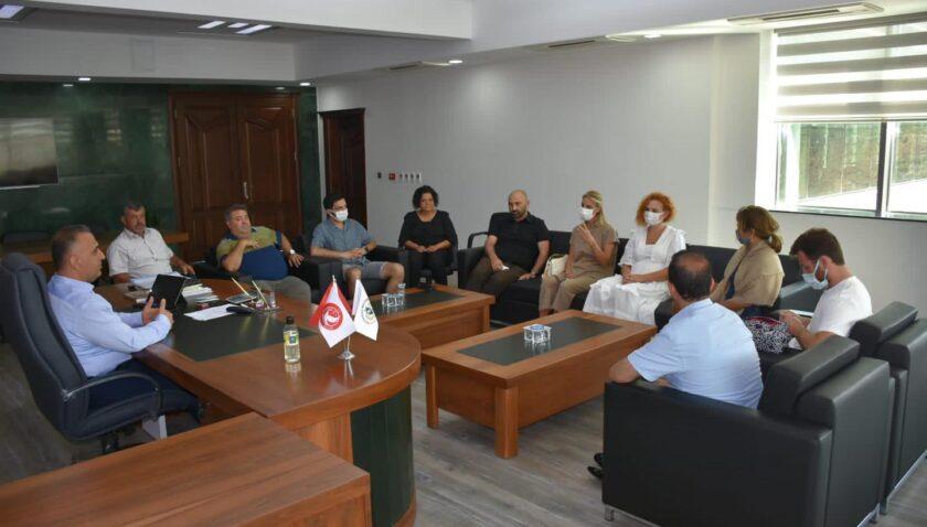 Şef Jale Balcı son kitabı için Zeytin Diyarı Altınözü'ne geldi