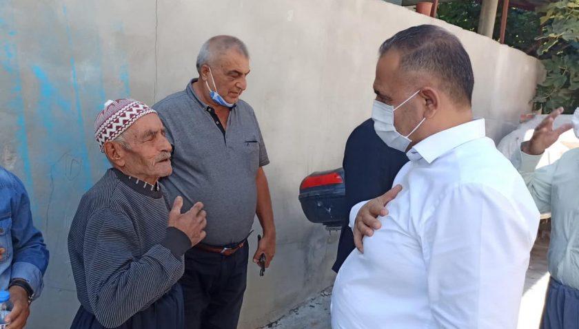 Başkan Sarı, Alakent'te vatandaşlarla buluştu