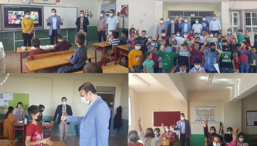 Müdür Güner okul ziyaretlerine devam ediyor