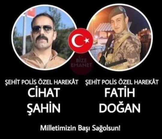 Azez'den kahreden haber: 2 polis şehit oldu!