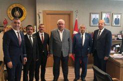 Altınözü'nden MHP Genel Başkan Yardımcısı Semih Yalçın'a ziyaret