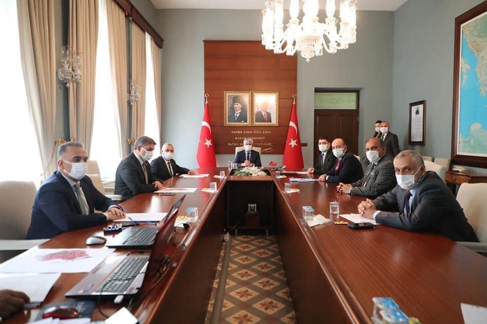 Vali Doğan başkanlığında Altınözü Enek OSB toplantısı