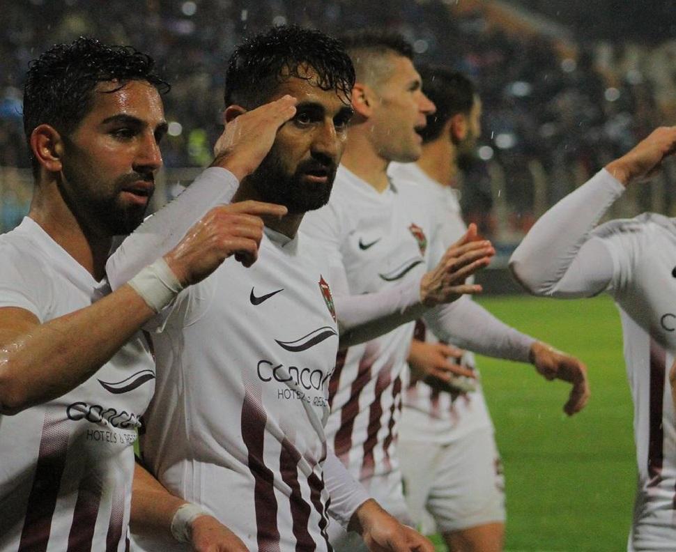 Göle dönen sahada gollü beraberlik 1-1