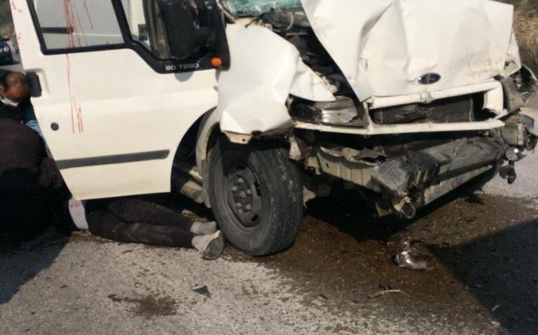 Altınözü'nde feci kaza: 4 yaralı!