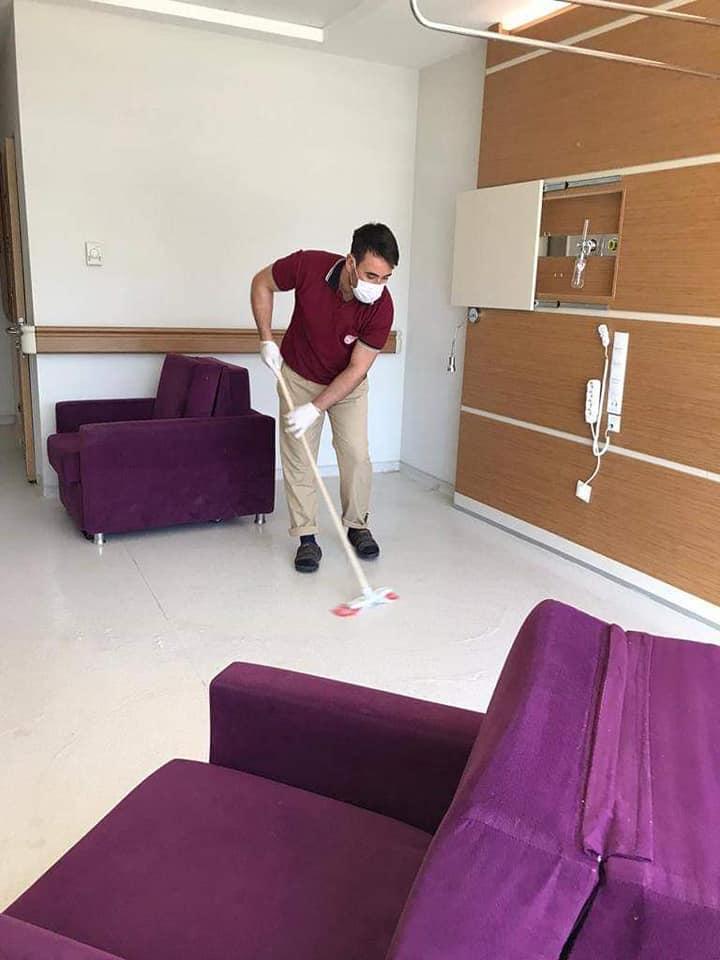 Hatay Devlet Hastanesi'nde hijyen seferberliği