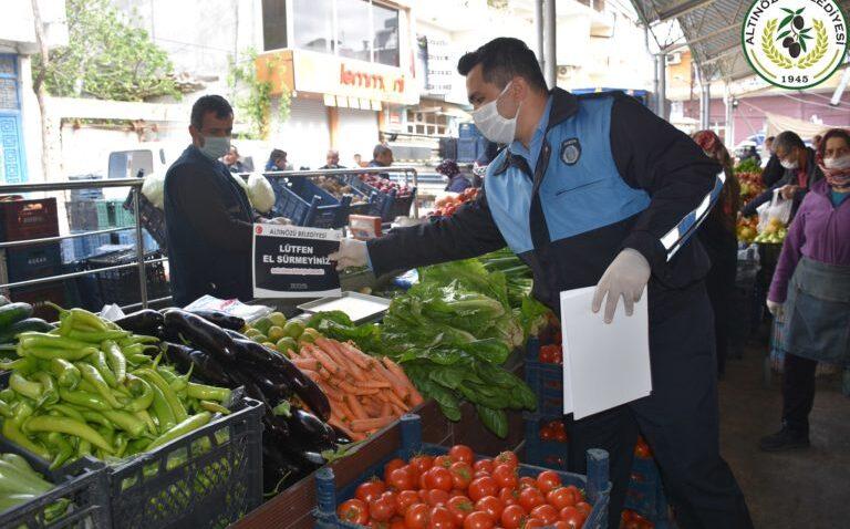 Altınözü'nde 12 mahallede semt pazarı kurulması yasaklandı!