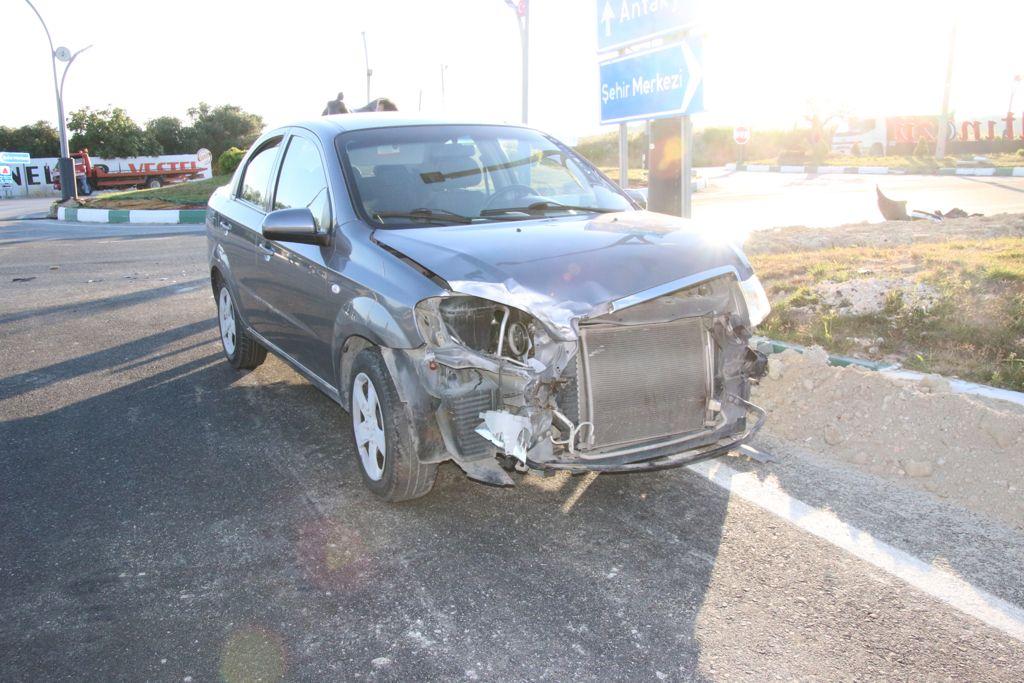Dikkatsizlik kazaya neden oldu!