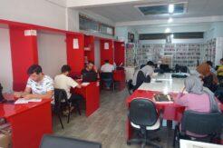 Öğrenciler istedi, Kaymakam Uygur onay verdi: Kütüphane 22.00'a kadar açık