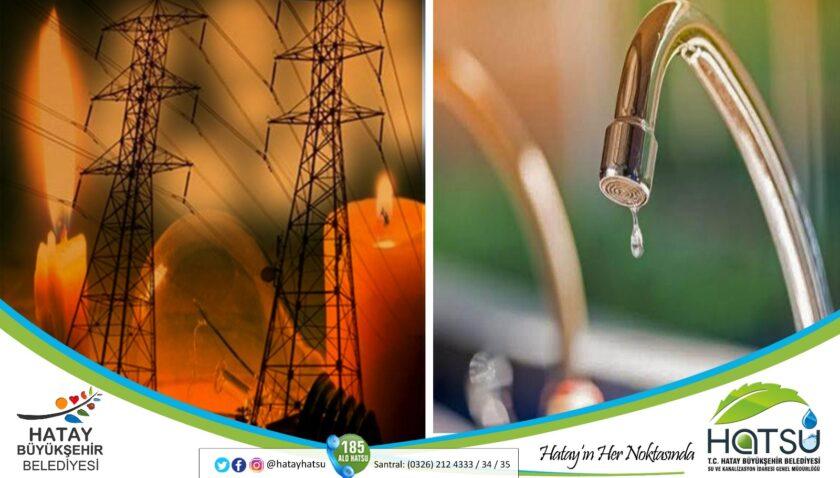 Altınözü'nde su sıkıntılarının nedeni elektrik kesintisi!