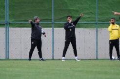 Takımı Gökhan Zan ve Özhan Pulat çalıştırdı