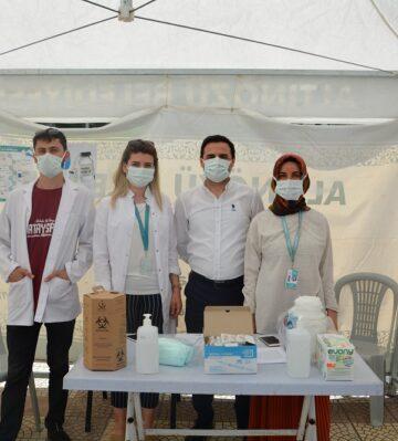 Altınözü'nde aşı seferberliği