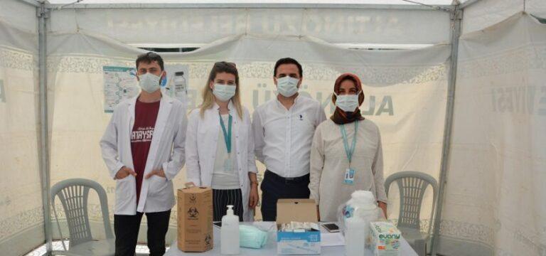 Altınözü'nde yapılan koronavirüs aşı sayısı 21 bini geçti
