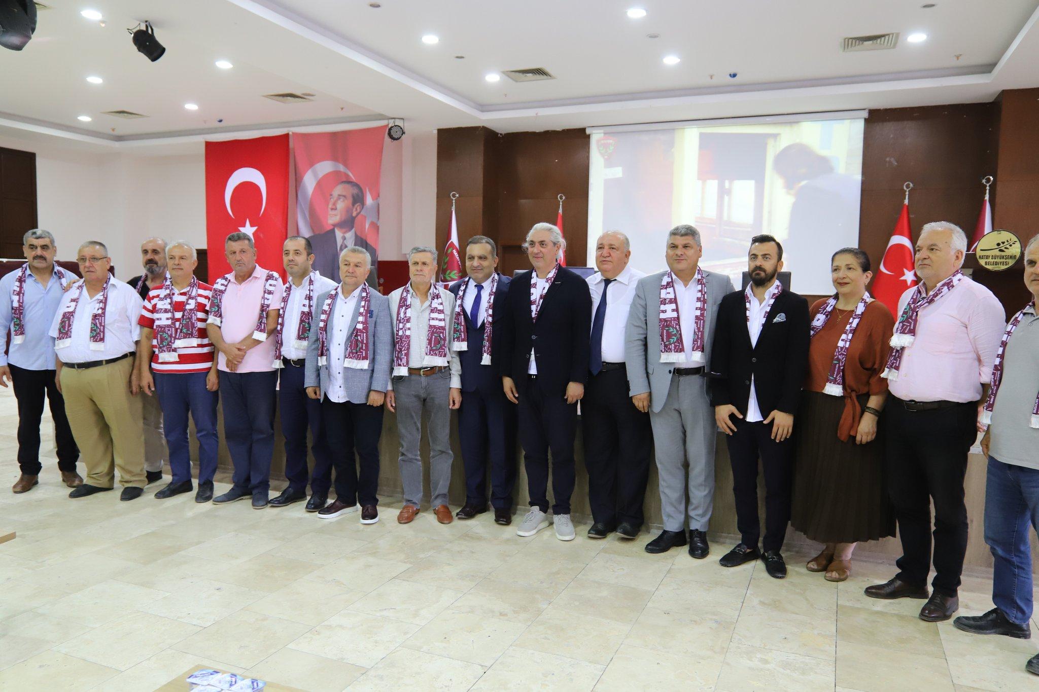 Hatayspor kulübü şirketleşme kararı aldı