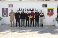 Kervan Saray'dan Jandarma'ya 18 Mart jesti
