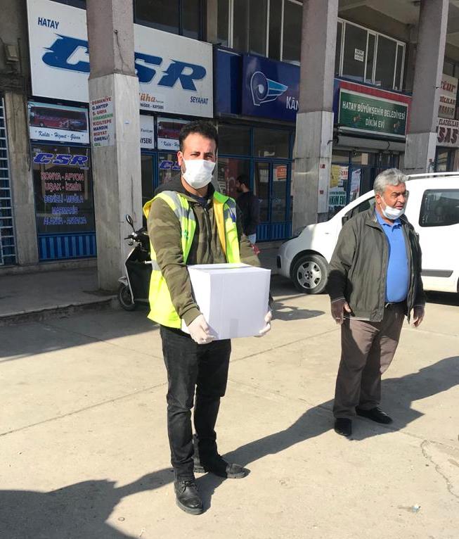 Safir Otopark çalışanlarını unutmadı