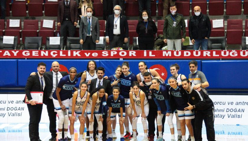 Türk derbisinde zafer Hatay'ın