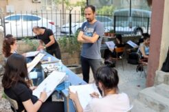 Selmani Baki Resim Atölyesi'nde hızlandırılmış kurs çalışmaları devam ediyor