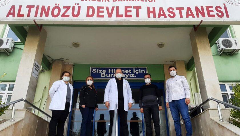 Altıneller Vestel sağlık çalışanlarını unutmadı