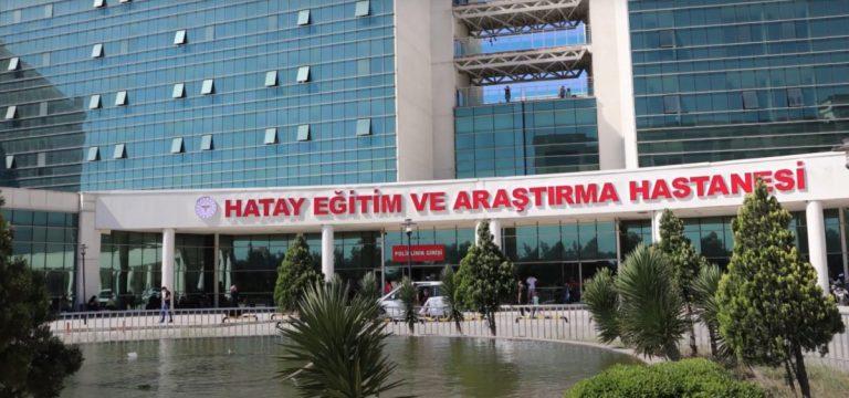 Hatay Eğitim ve Araştırma Hastanesi'nde bir ilk!