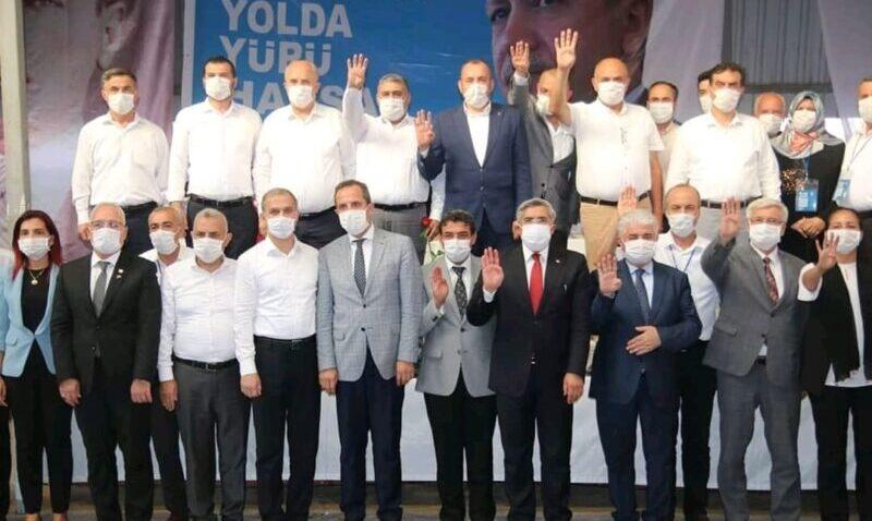 AK Parti'de kongre heyecanı 4 ilçeyle sürdü